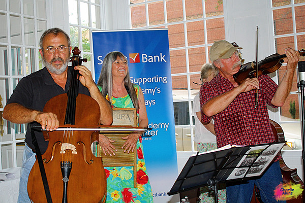Great music by Farm Use String Band