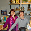 These ladies work at Good Karma Tea Co.