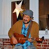 This talented musician sang at Riverviews Artspace.
