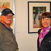 I met this nice couple at Riverviews Artspace