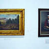 Oil paintings at the Academy Center of the Arts