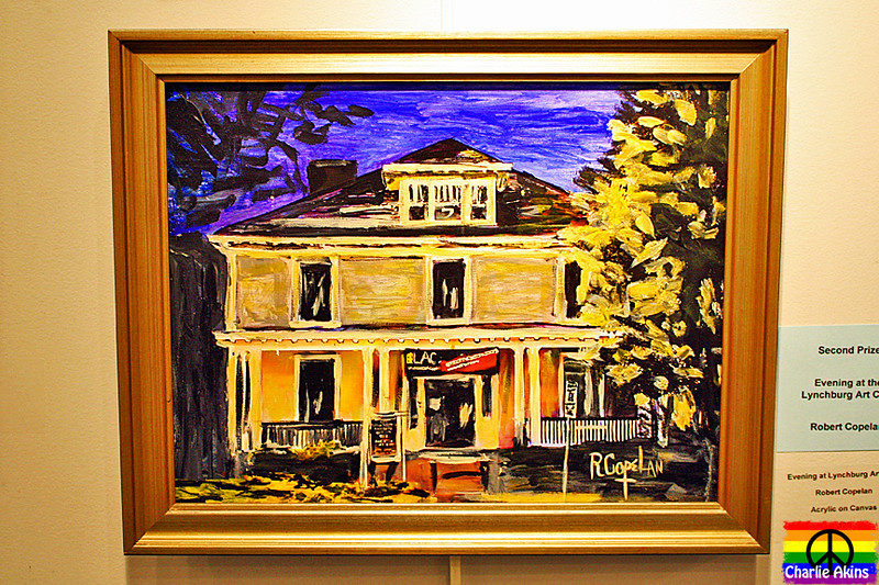 """Evening at the Lynchburg Art Club"" by Robert Copelan"