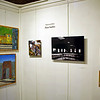 Dave Keebler's paintings at Riverviews Artspace