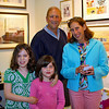Nice family touring an art studio at Riverviews Artspace