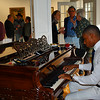 This young man played the piano beautifully