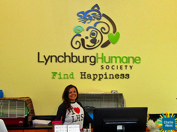 The Lynchburg Humane Society was also open for First Fridays.