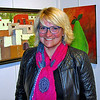 I saw Kim Soerensen at Riverviews Artspace.