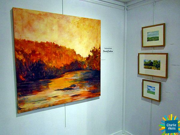 David R Eakin is the featured artist at Riverviews Artspace.