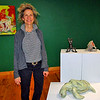 Artist, Jenny Lynn McNutt, at the Academy Center of the Arts