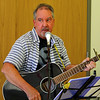 This guitarist sang songs by the Eagles at the Lynchburg Humane Society.