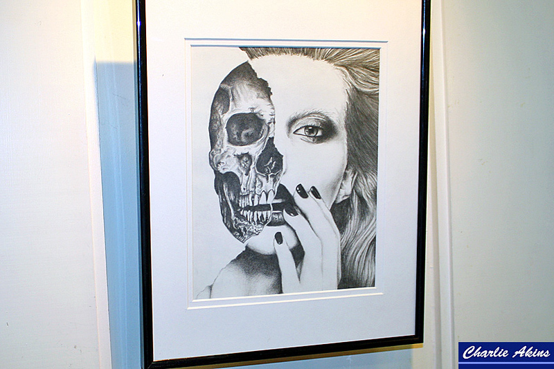 """""""Under the Skin"""" pencil drawing by Candace Padgett"""