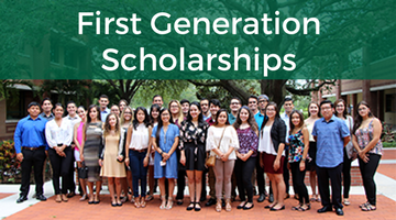 Scholarships for First Generation Students