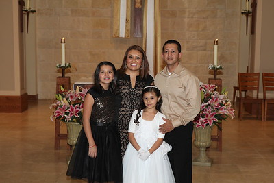 First Holy Communion  4-30-16 5pm