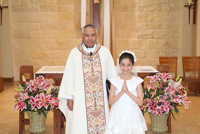 First Holy Communion 5pm 5-1-16