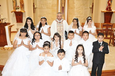 First Holy Communion 5-1-16 12:30mass