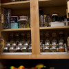 Spice cabinet.