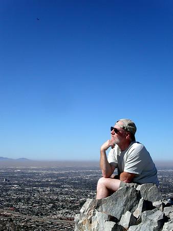 Climbing Squaw Peak