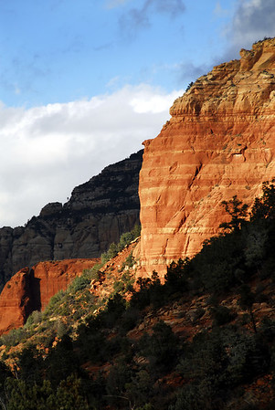 Sedona - Sunset in the Canyon