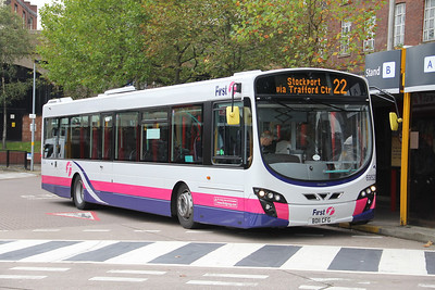 First Man 69528 Stockport Bus Stn Oct 11