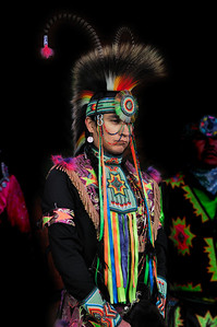 "I didn""t catch his name but he is a World Champion Powwow Dancer in the ""Chicken Dance"" category.   35th Annual Miccosukee Indian Arts Festival."