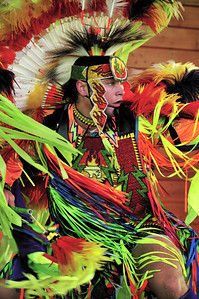 Fancy Dancer, Taken at 34th Annual Miccosukee Indian Arts Festival, Jan09.