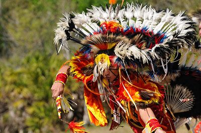 Fancy Dancer, Iron Horse Dancers,  Seminole Shootout at Big Cypress Seminole Reservation