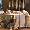 Kissing the altar