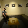 KRISTOPHER RADDER — BRATTLEBORO REFORMER<br /> Daniel Chiaccio, the owner of First Proof Press, sits in a gallery space that he created inside the former Mitchell Giddings Gallery space after Mitchell Giddings moved into a new space on Main Street, in Brattleboro. The first class in this new space starts on Feb. 15.