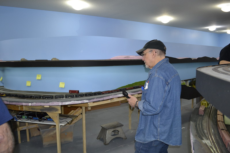 Mike Schafer on a Coal Train
