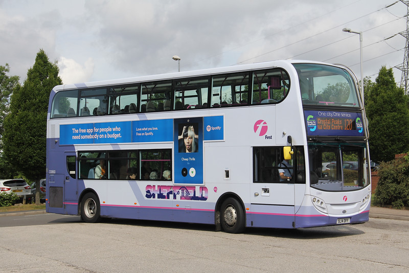 First South Yorkshire 33860 Crystal Peaks Sheffield Jun 18