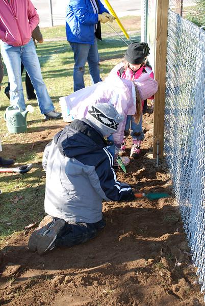 Planting Bulbs w/Sunday School