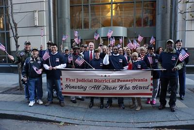 First Veterans Days Parade in Philadelphia 2015
