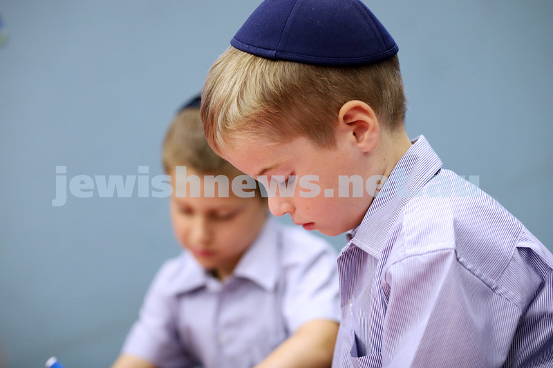 30-1-20. Yeshivah College . First day of school for the new prep/foundation students. Photo: Peter Haskin
