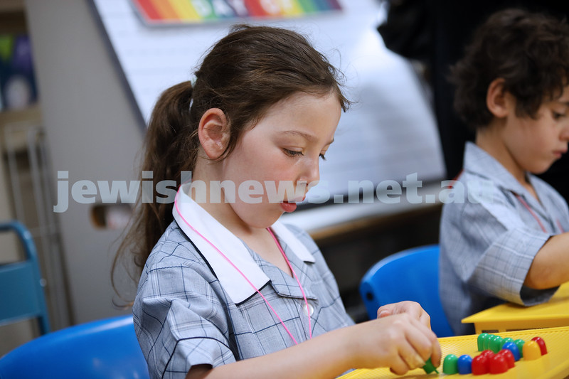 31-1-20. Sholem Aleichem College. Fist day of school for prep students. Photo: Peter Haskin