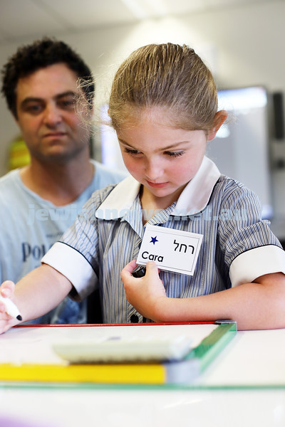 31-1-20. Mount Scopus, Gandel Besen House. First day of school for prep students. Photo: Peter Haskin