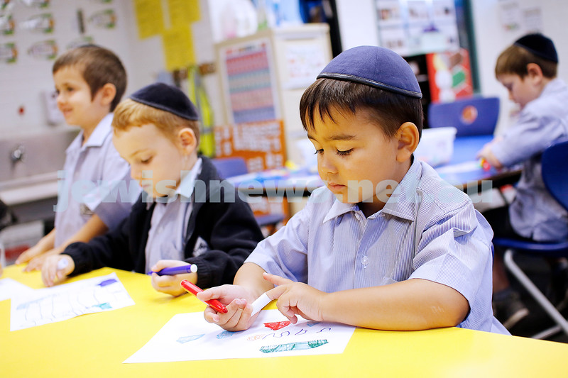 First day of school 2019. Yeshivah College. Photo: Peter Haskin