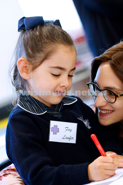 First day of school 2019. Beth Rivkah Ladies College. Photo: Peter Haskin