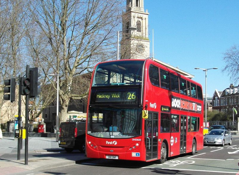 33620 - SN11BNF - London (Waterloo station) - 2.4.13