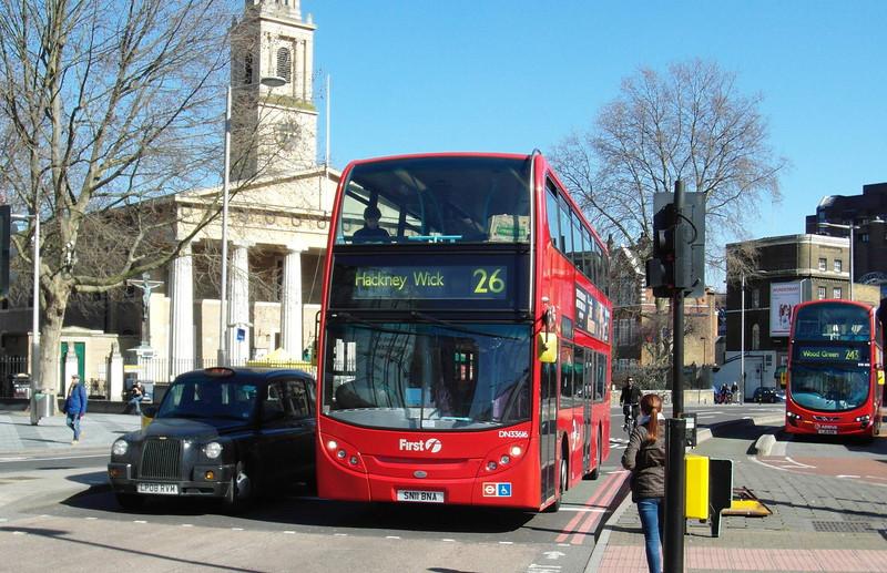 33616 - SN11BNA - London (Waterloo station) - 2.4.13