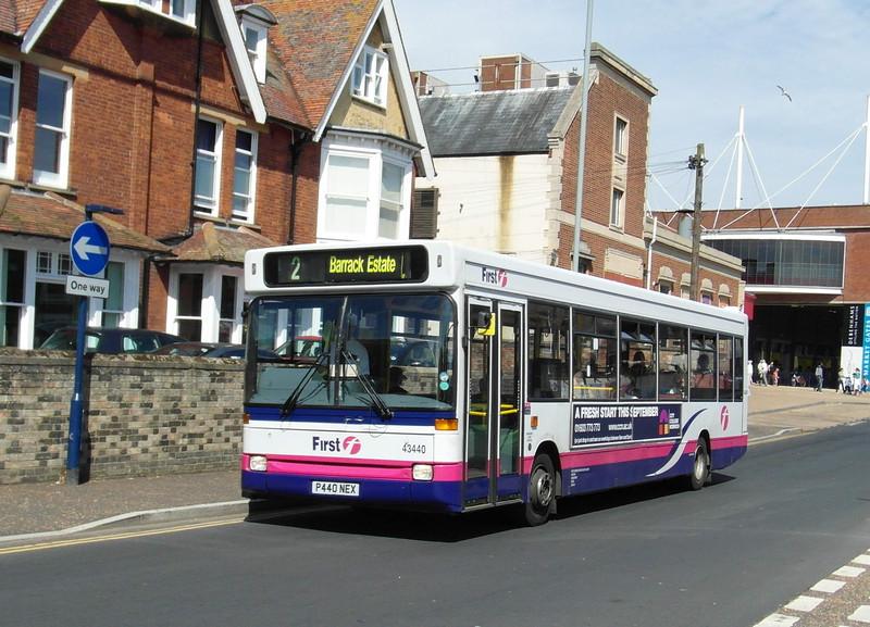 43440 - P440NEX - Great Yarmouth (Alexandra Road) - 1.8.12