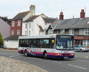 60814 - S665RNA - Great Yarmouth (Priory Plain) - 1.8.12