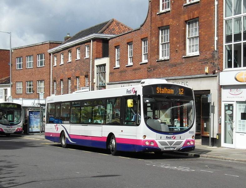 66950 - WX55TZM - Norwich (Castle Meadow) - 30.7.12