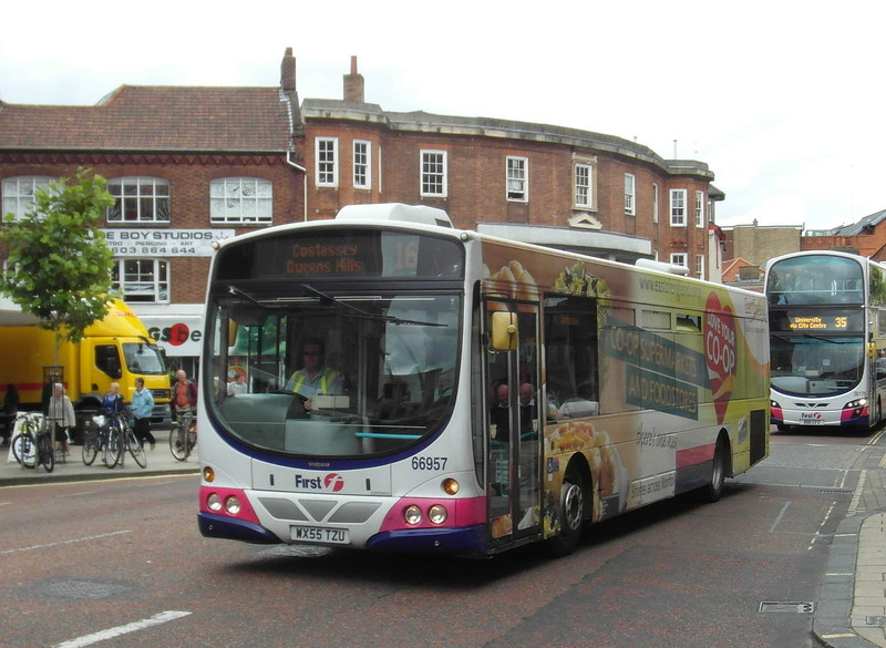 66957 - WX55TZU - Norwich (St. Stephen's St) - 30.7.12