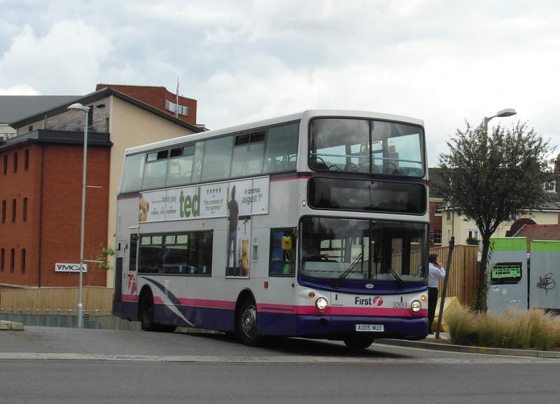 32651 - AU05MUO - Norwich (bus station) - 30.7.12