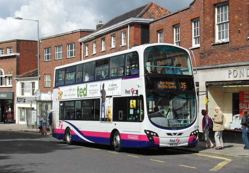 36176 - BD11CGE - Norwich (Castle Meadow) - 30.7.12