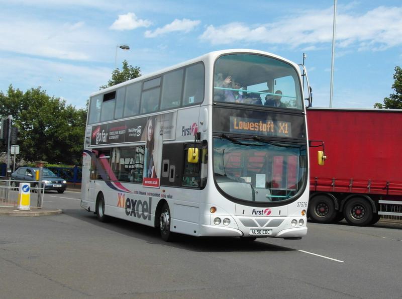 37576 - AU58EDC - Great Yarmouth (Priory Plain) - 1.8.12