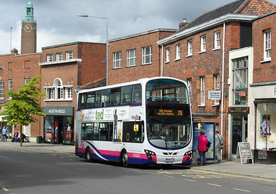36180 - BD11CDZ - Norwich (Castle Meadow) - 30.7.12