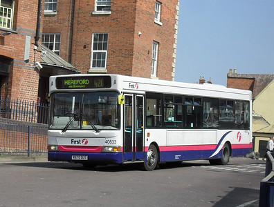 40833 - R670DUS - Worcester (bus station) - 20.4.11