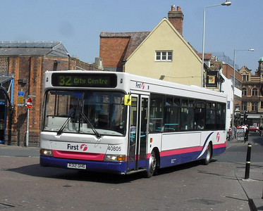 40805 - R312GHS - Worcester (Angel Place) - 20.4.11