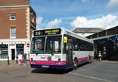 67254 - M254MRW - Worcester (Angel Place) - 28.8.12